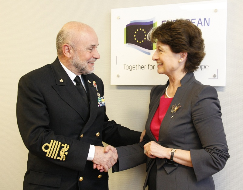 Italian Chief of Defence visits EDA