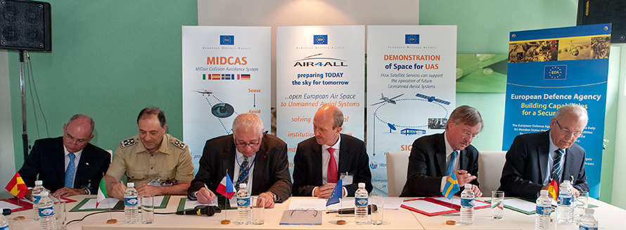 Launch of the MIDCAS project
