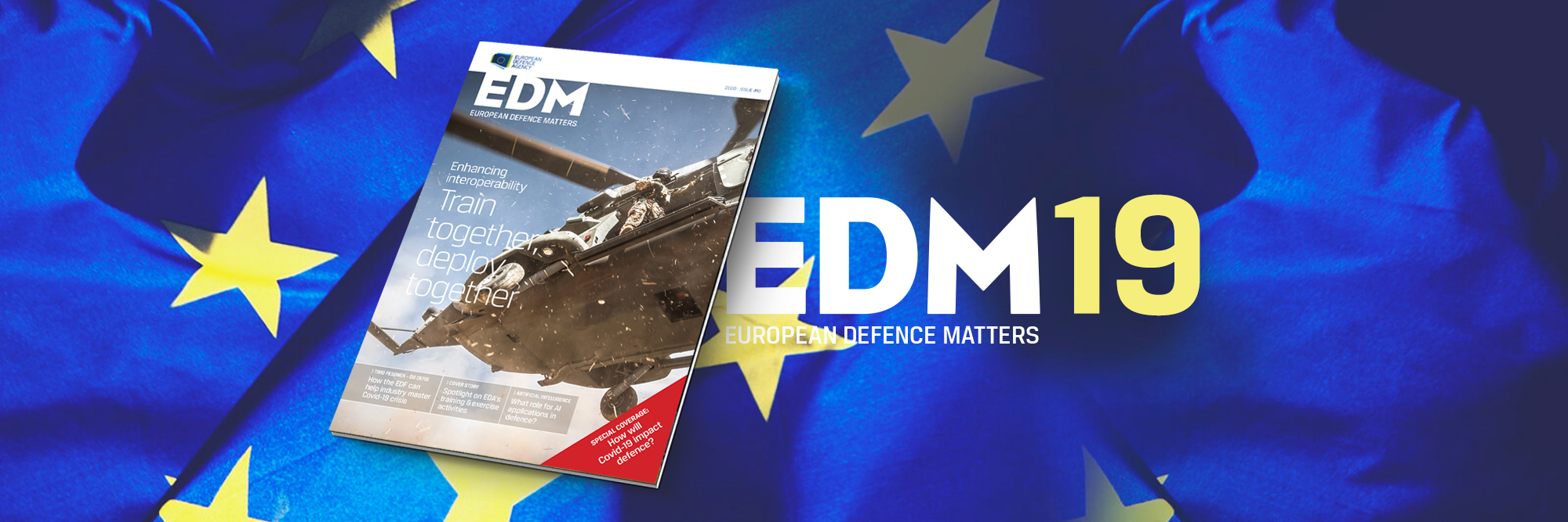 The new EDA magazine is out!