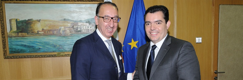 Defence cooperation talks in Cyprus