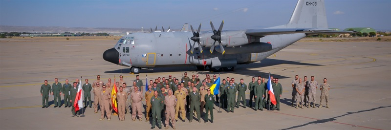 Airlift tactics training held in Spain