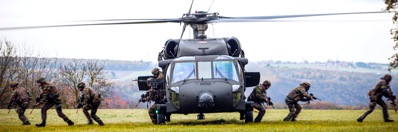 10th EDA Helicopter Training Exercise Programme takes off in Belgium