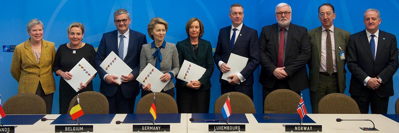 Belgium joins multinational tanker fleet