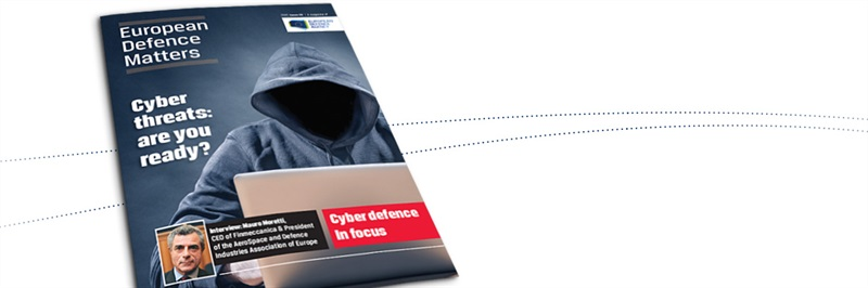 Latest issue of EDA magazine on cyber defence