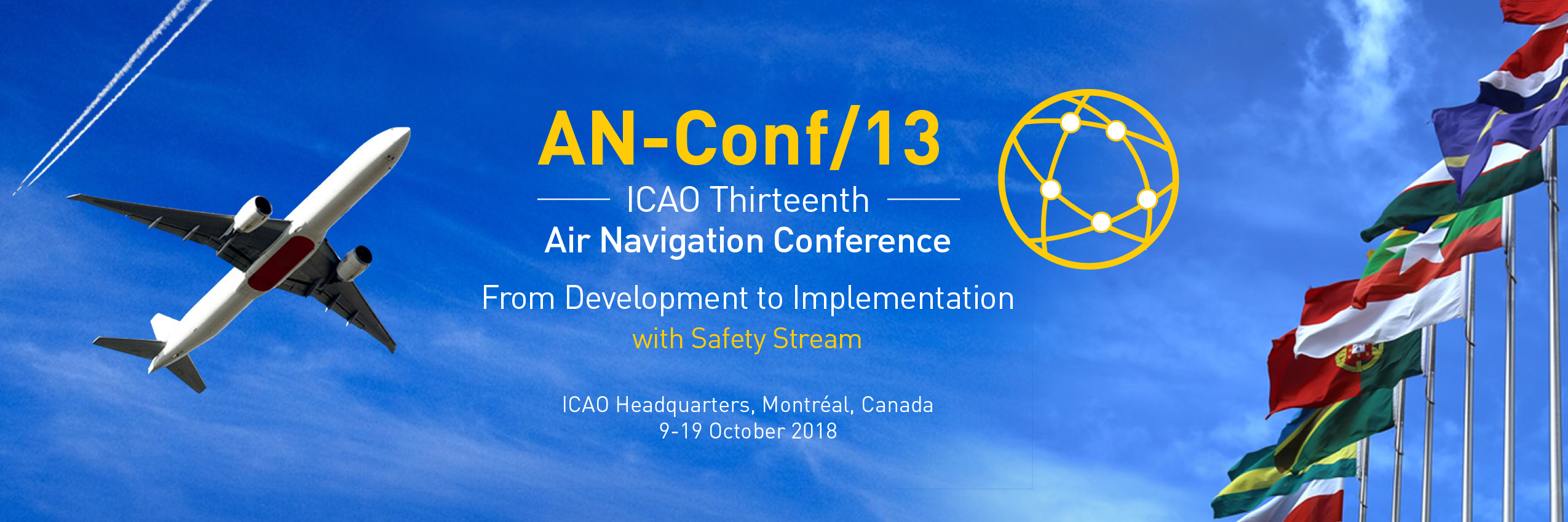 EDA promotes civil-military collaboration in the 13th ICAO Air Navigation Conference