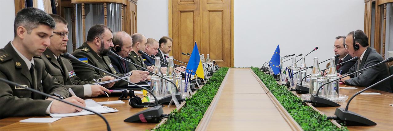 EDA Chief Executive visits Ukraine