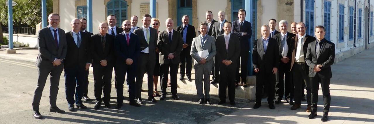 C-IED project team met in Cyprus