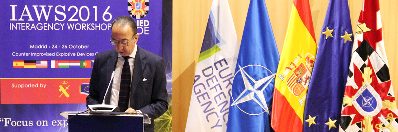 """""""C-IED proficiency needs to be improved and shared"""", says Jorge Domecq"""