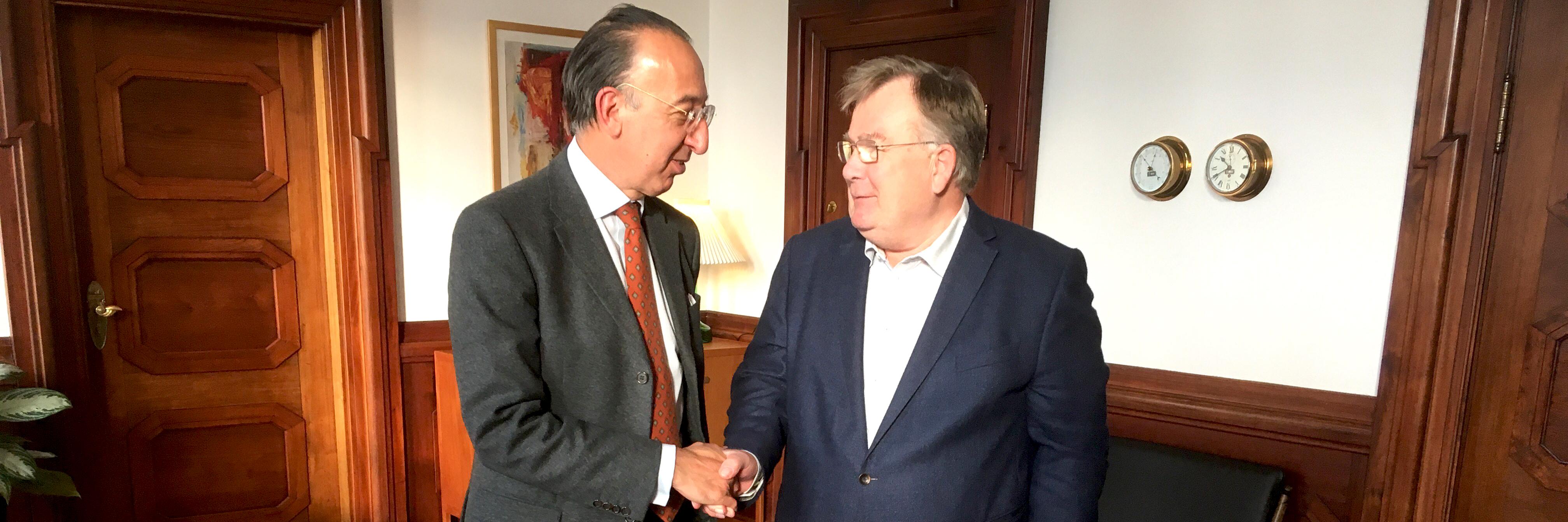 EDA Chief Executive visits Denmark