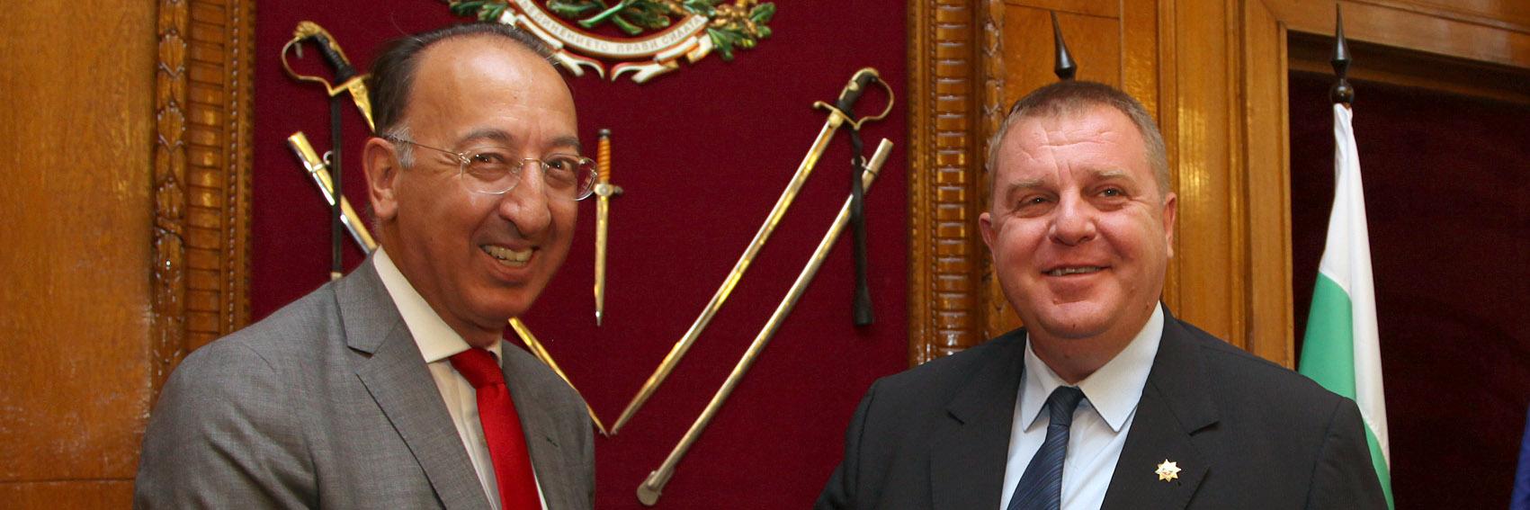 Chief Executive Domecq visits Bulgaria