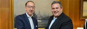 EDA Chief Executive visits Athens
