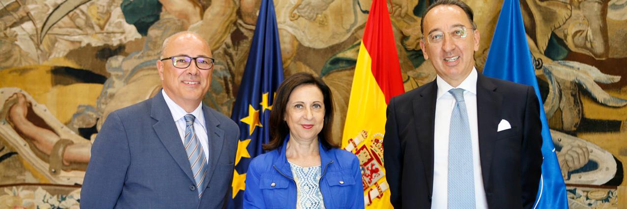 EDA Chief Executive visits Spain