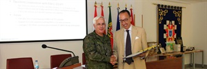 Jorge Domecq visits Counter-IED centre of excellence