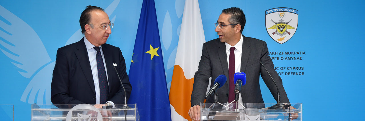 Chief Executive Domecq visits Cyprus