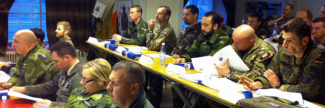 Successful personnel recovery course held in Sweden
