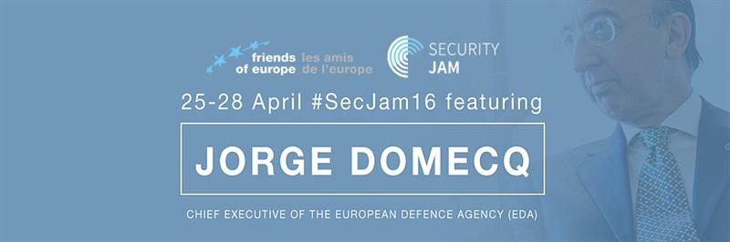 Jorge Domecq participates in 2016 Security Jam