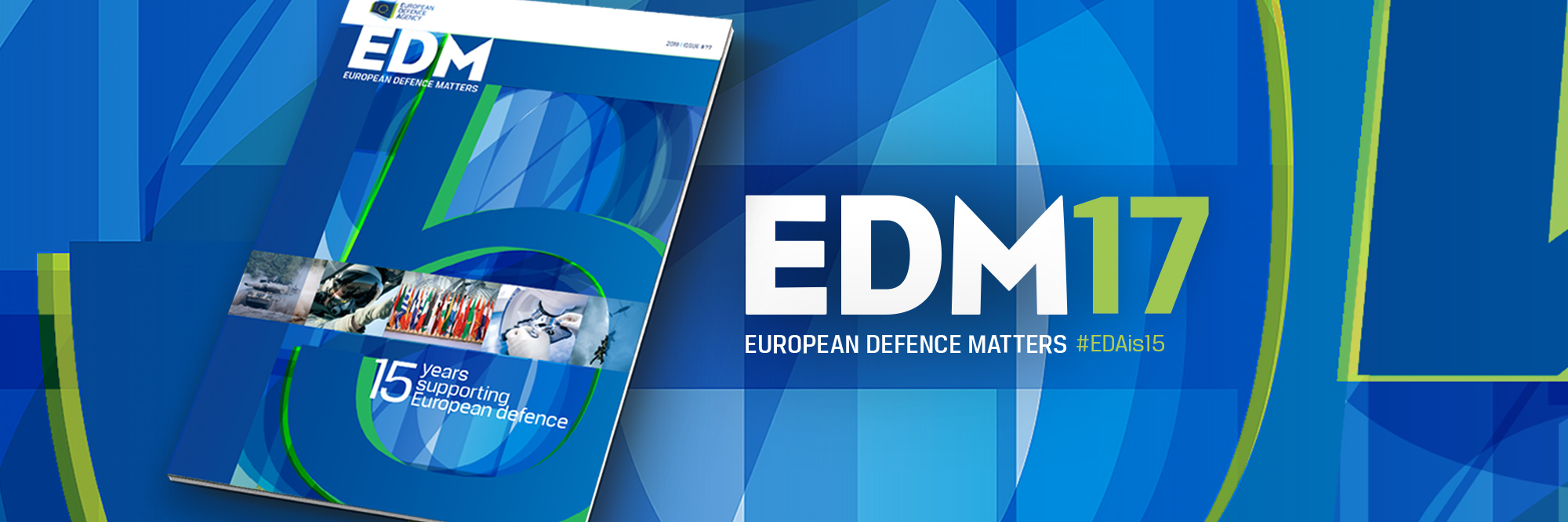 A special edition for a special occasion: the new EDA magazine is out!