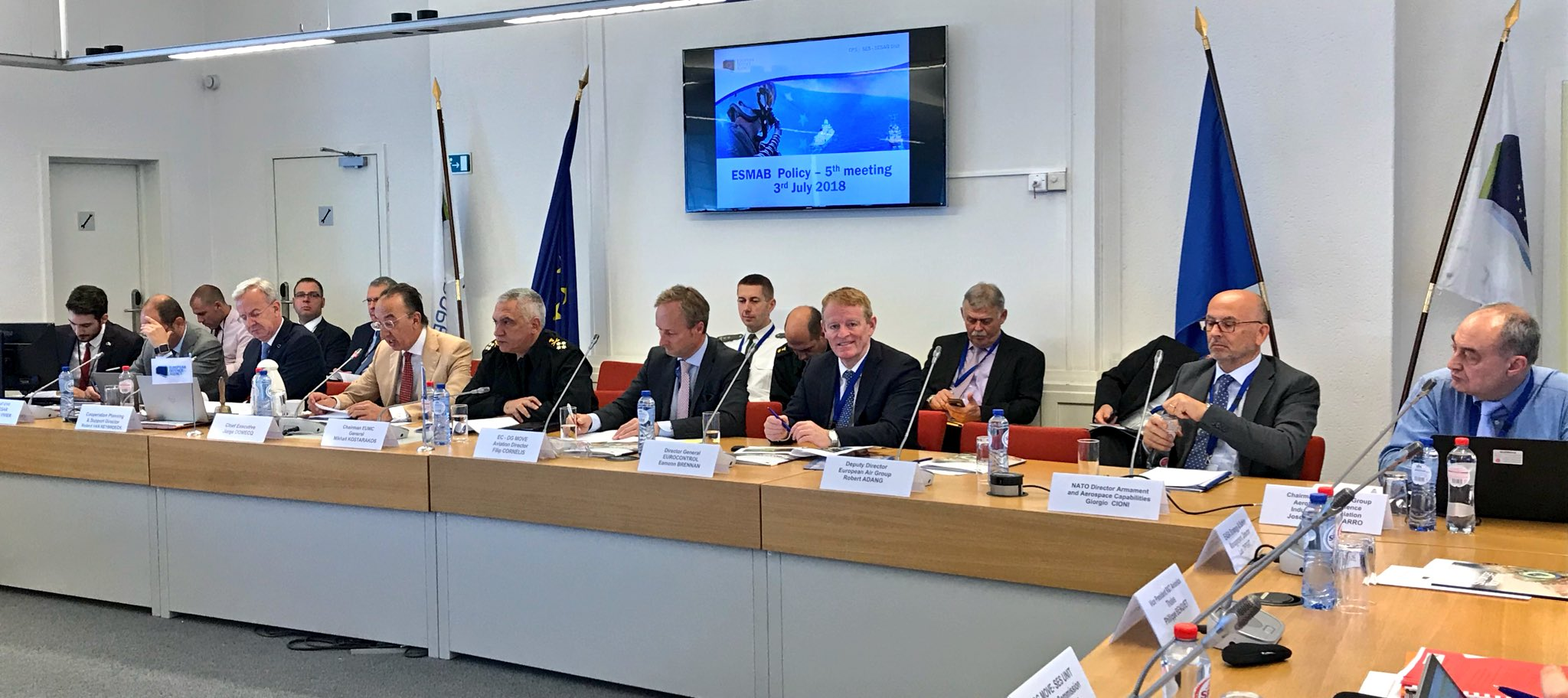 "ESMAB meeting focused on ""Digital European Sky"""