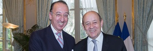 EDA Chief Executive meets French Minister of Defence