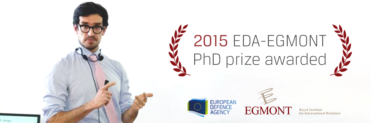 2015 EDA-Egmont PhD prize awarded