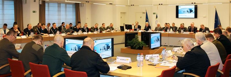 EU Military Committee visits EDA
