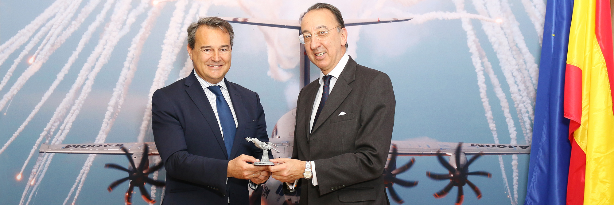 Spanish Secretary of State visits EDA