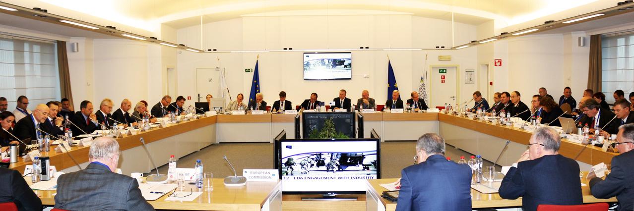 National Armaments Directors discuss a wide range of important topics at EDA Steering Board meeting