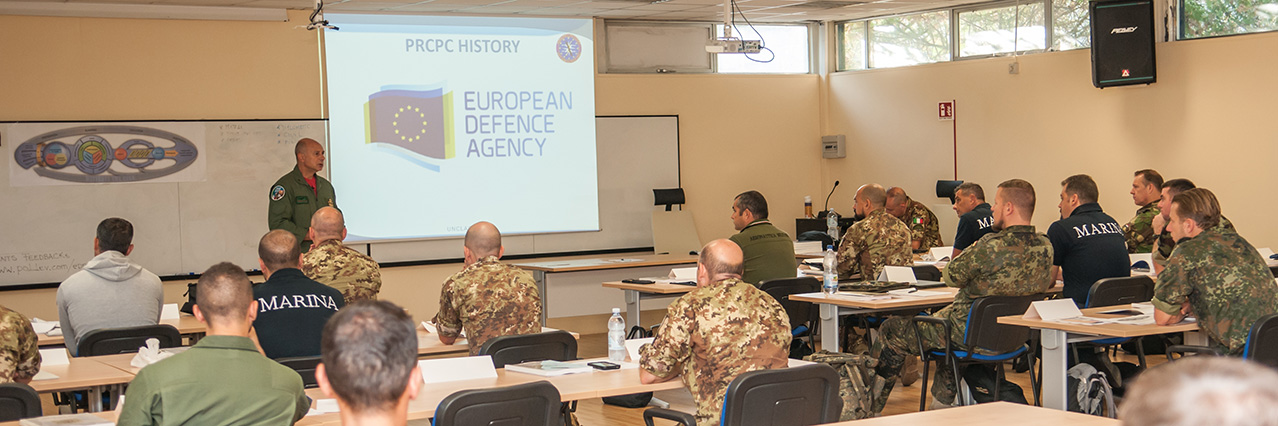 EDA's Joint Personnel Recovery Staff Course hosted for the first time by Italy