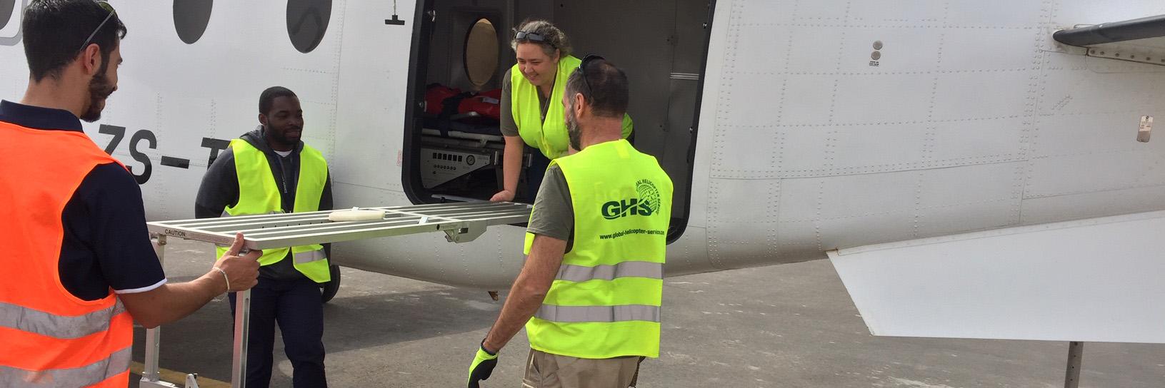 EDA deploys first civilian, fixed-wing aeromedical evacuation services