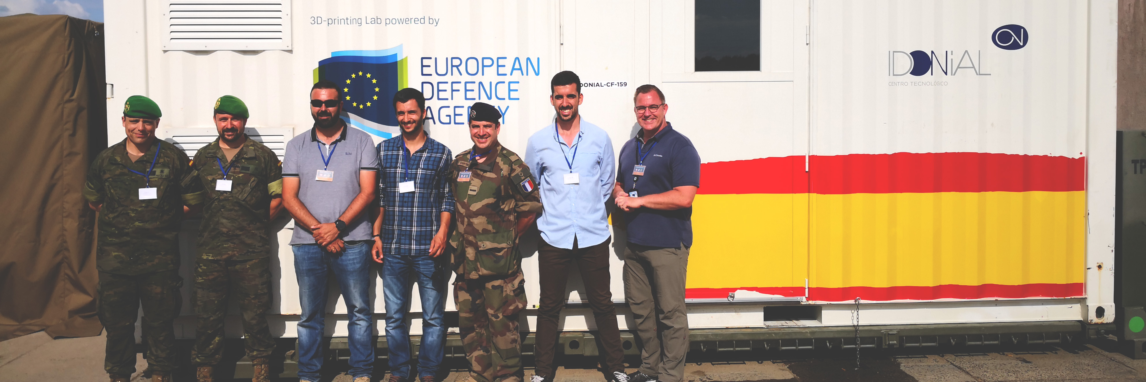 EDA projects involved in major international logistics exercise