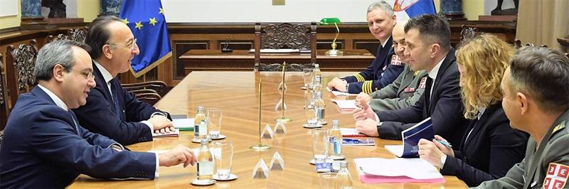 EDA Chief Executive visits Serbia