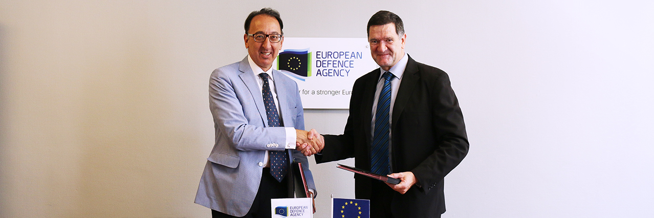 EDA and EU Satellite Centre (SATCEN) formalize cooperation with exchange of letters