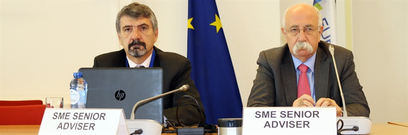 EDA SME Senior Advisors attend their first SME network meeting