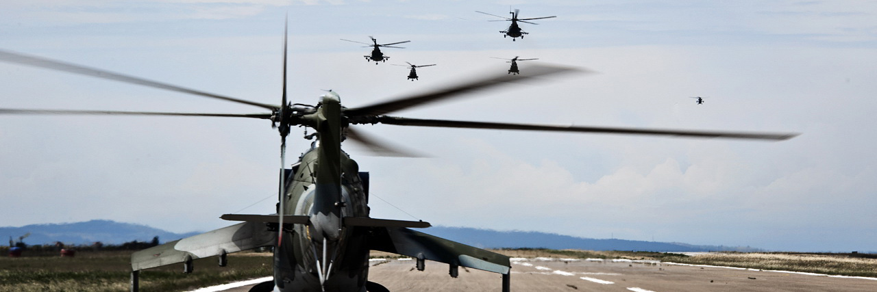 Helicopter Tactics Symposium drew lessons from past operations