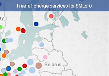 Free-of-charge services for SMEs