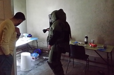 Second joint law enforcement and military course on homemade explosives finishes in Ireland