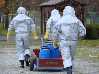 EDA Hosts a Chemical, Biological and Radiological Agents Exercise