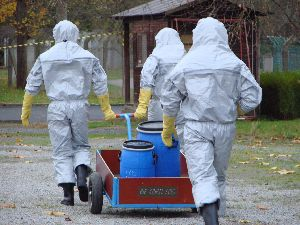 EDA and the Belgium CBRN Training School host a Combined Multinational CBRN EOD Staff Planners and Incident Commanders Course